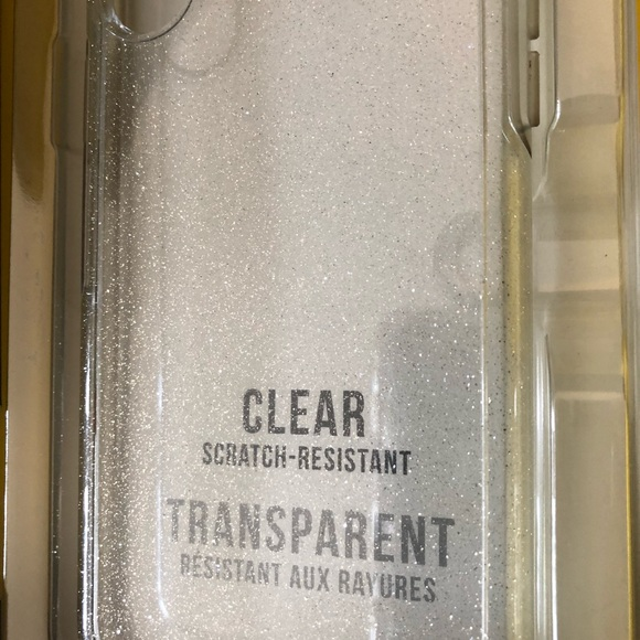 low priced a335b 41faf Otter Box SYMMETRY CLEAR IPHONE X CASE glitter
